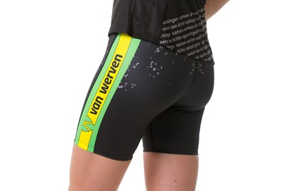 Korte tight loopbroek dames